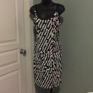 Dresses & Skirts - SEXY Black & White Cocktail sequin dress